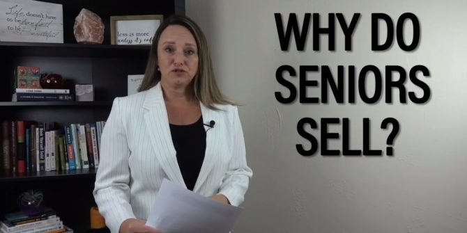 Why Do Senior Adults Sell